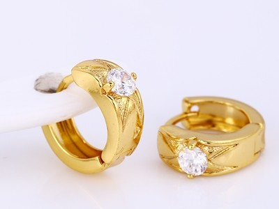 Elegans-nyomott-mintas-csillogo-kristalyos-aranyozott-fulbevalo
