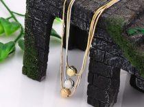 Haromsoros-tobbszinu-arany-ezust-nyaklanc-bogyo-mintaval