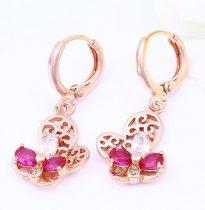 Attort-mintas-rozsa-arany-fulbevalo-tobbszinu-kovekkel