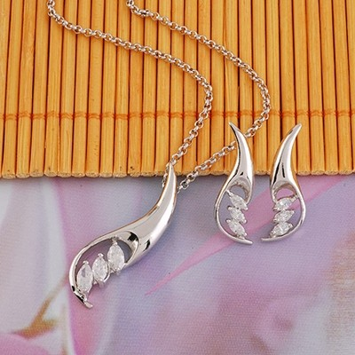 ezüst szett alak