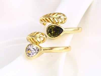 aranyozott gyűrű alak